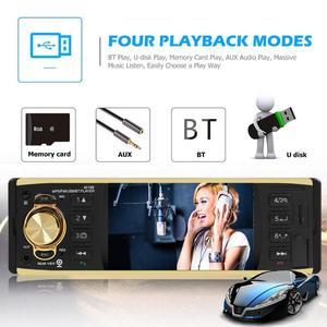 "Image 3 - VODOOL 4019B 1din Car Radio 4.1"" Bluetooth Autoradio Stereo MP5 Player AUX USB FM Backup Camera Auto Audio Car Multimedia Player"