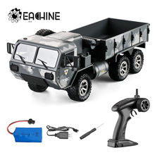 Eachine EAT01 1/16 2.4G 6WD Rc Auto Proportionele Controle Us Army Militaire Off Road Rock Crawler Truck Rtr W/Verschillende Batterij(China)