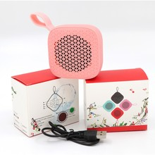 Portable Mini Outdoor Bluetooth Speaker with Microphone Hands-free Sports Loudspeaker