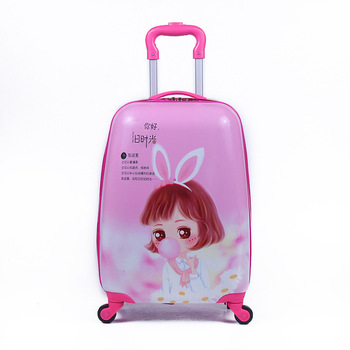 new-18inch-kids-luggage-cartoon-pc-suitcase-boarding-rolling-luggage-travel-bag-kids-suitcase-gift-drop-shipping