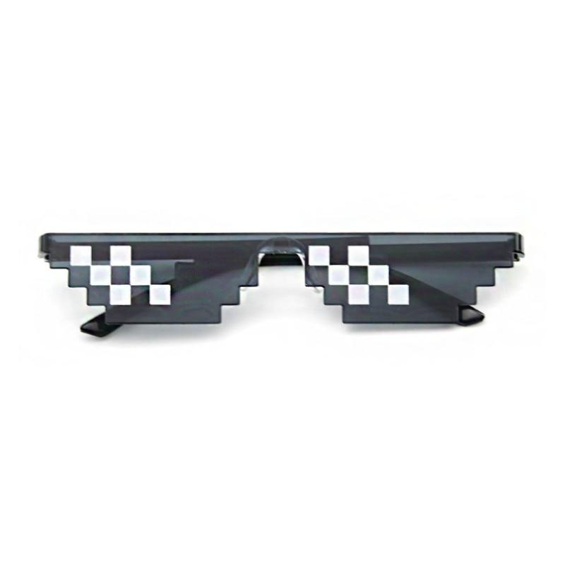 2020 Mosaic Sun Glasses 8 Bit MLG Pixelated Sunglasses Men Women Brand Thug Life Party Fimess Eye Glasses Vintage Okulary