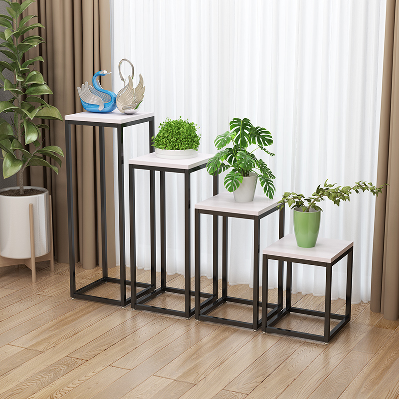 Flower Airs Modern Simplicity Golden A Living Room Interior Decoration Landing Type Green Luo Metal Flowerpot Planting Frame