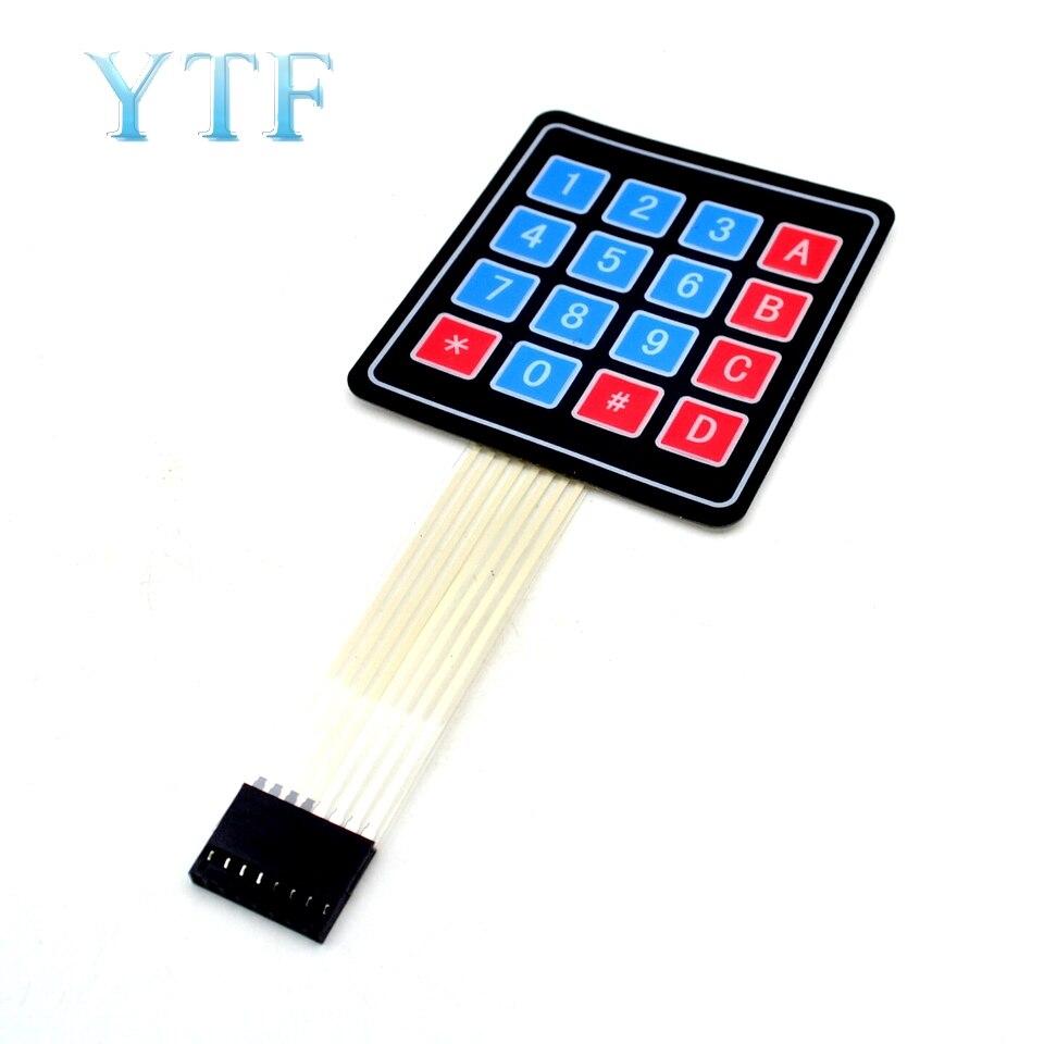 16 Key 4 X 4 Membrane Switch Keypad 4x4 Matrix Array Matrix Keyboard