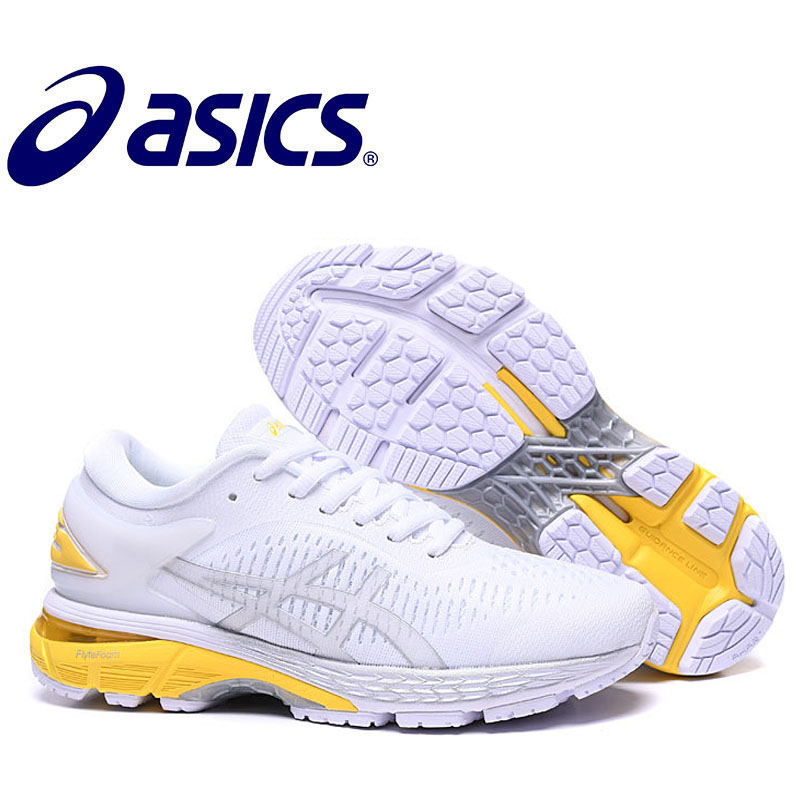 2019 Original Asics-Kayano 25 Woman's Shoes Breathable Stable Running Shoes Outdoor Tennis Shoes Asics-gel Kayano 25