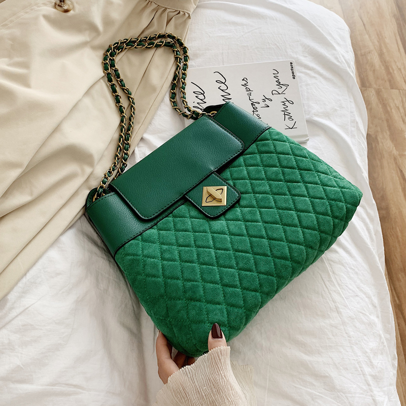 Vintage Fashion Female Big Tote New High Quality Matte PU Leather Women's Designer Handbag Chain Ladies Shoulder Messenger Bags