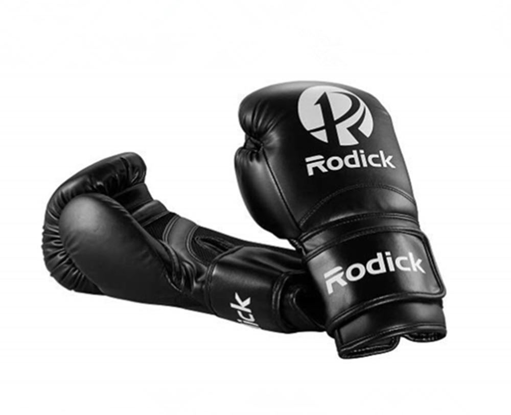 Gants de boxe noir mma gants tampons boxe gants de boxe pour hommes femmes guantes de boxeo