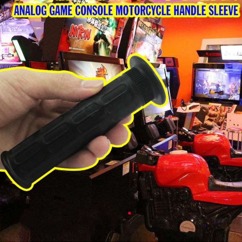 Купить с кэшбэком TT Motorcycle Handlebar Grip Racing Game Machine Part FF Speed Motorcycle Handle