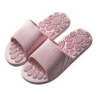 Reflexología masajeador de pie zapatillas de baño suaves alivio de tensión masaje de acupuntura para pies herramientas antideslizantes Zapatillas de casa cuidado saludable