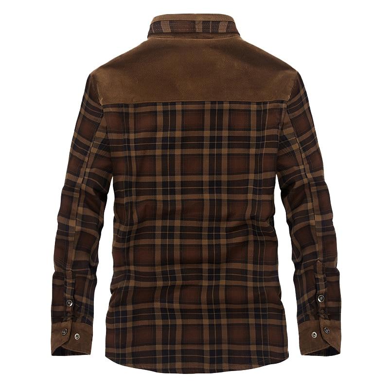 Mountainskin Men's Warm Jacket Fleece Thick Army  Coat Autumn Winter Jacket Men Slim Fit Clothing Mens Brand Clothing SA831 4