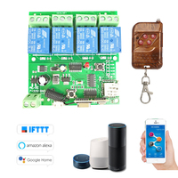 eWeLink 433Mhz Smart Remote Control Wireless Switch Universal Module DC 5V 12V 32V Wifi Switch Timer Phone APP Remote Control