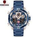KADEMAN новые спортивные мужские часы лучший бренд класса люкс двойной дисплей наручные часы водонепроницаемые военные мужские из нержавеюще...