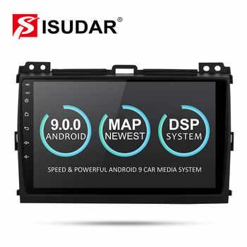 Isudar 2 Din Car Multimedia Player Android 9 For Toyota/Prado 120 2004-2009 Auto Radio GPS Navigation FM Camera USB DVR DSP OBD - DISCOUNT ITEM  27% OFF All Category