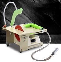 220V 380W Multi function Table Saw DIY Jade Engraving Machine Woodworking Table Saw Desktop Mini Stone Polisher Cutting Machine