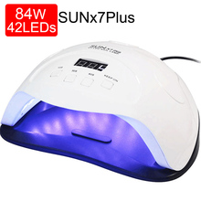 LNWPYH Nail Dryer 84/54/24W UV Lamp LED Nail Lamp For All Gels Polish Curing Lamp Phototherapy Machine Fast Drying