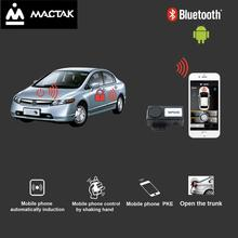 Auto car with  Mobile phone control Open the trunk、 keyless entry Civ** android systems K788