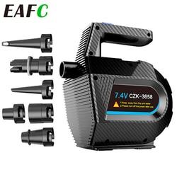 Electric Air Pump + Compression Air Pump Quick-Fill Compression Air for Air Mattress Cushions Air Mattress Beds Swimming Ring