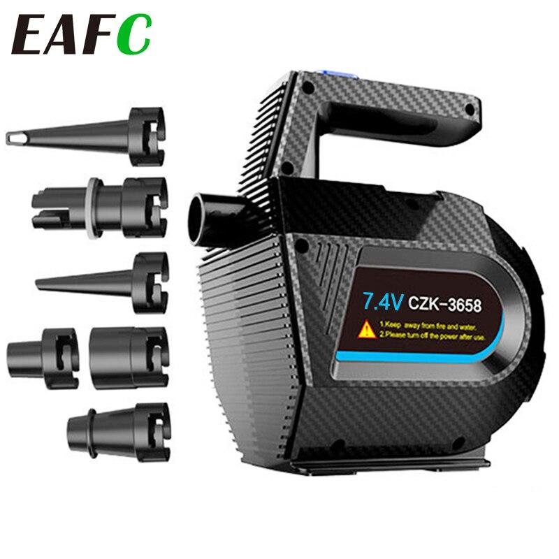 Pompe à Air électrique + pompe à Air de Compression à remplissage rapide, pour matelas à Air avec bagues de natation