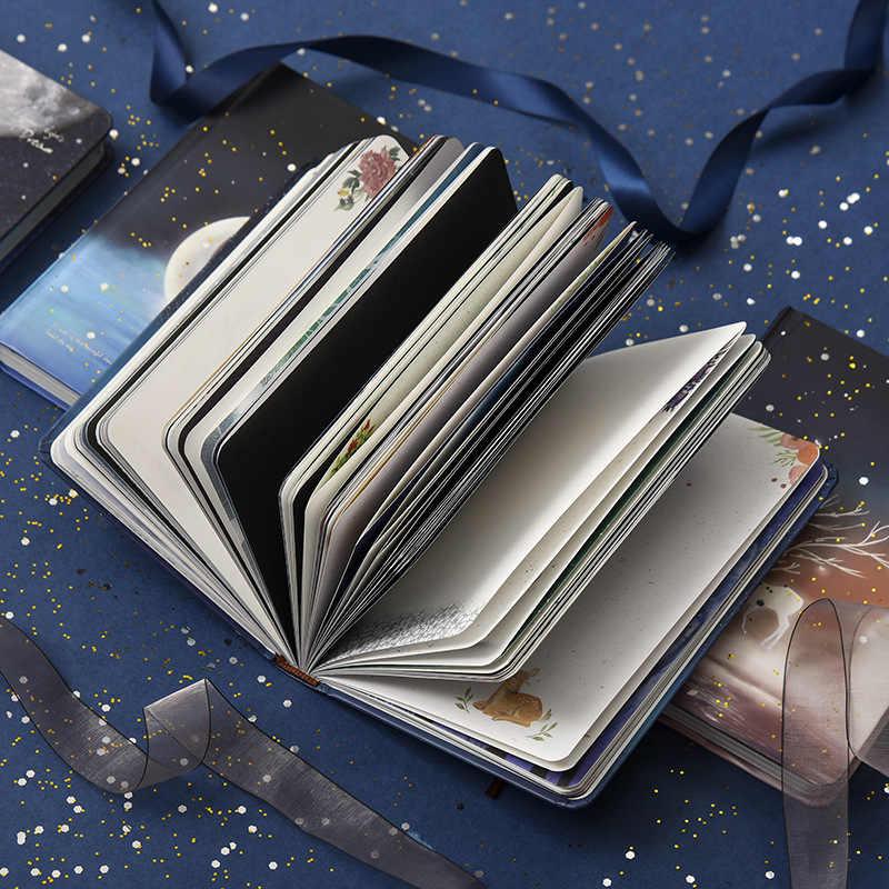 Ilustracje jelenia notatnik szkicownik rysunek 128 arkuszy śliczne jelenie notatnik pamiętnik papierowa książka prezent do biura i szkoły