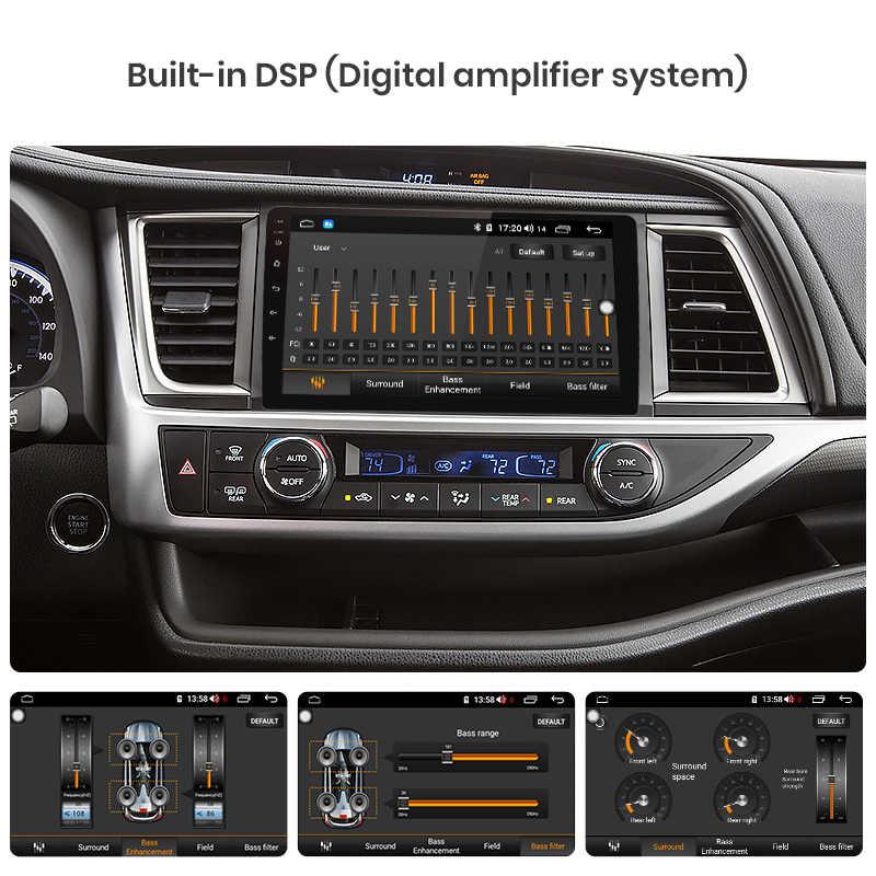 Junsun V1pro 4G + 64G CarPlay DSP Android 8,1 автомобильный Радио Мультимедиа стерео плеер gps для Toyota Highlander 2014-2017 2018 2Din DVD