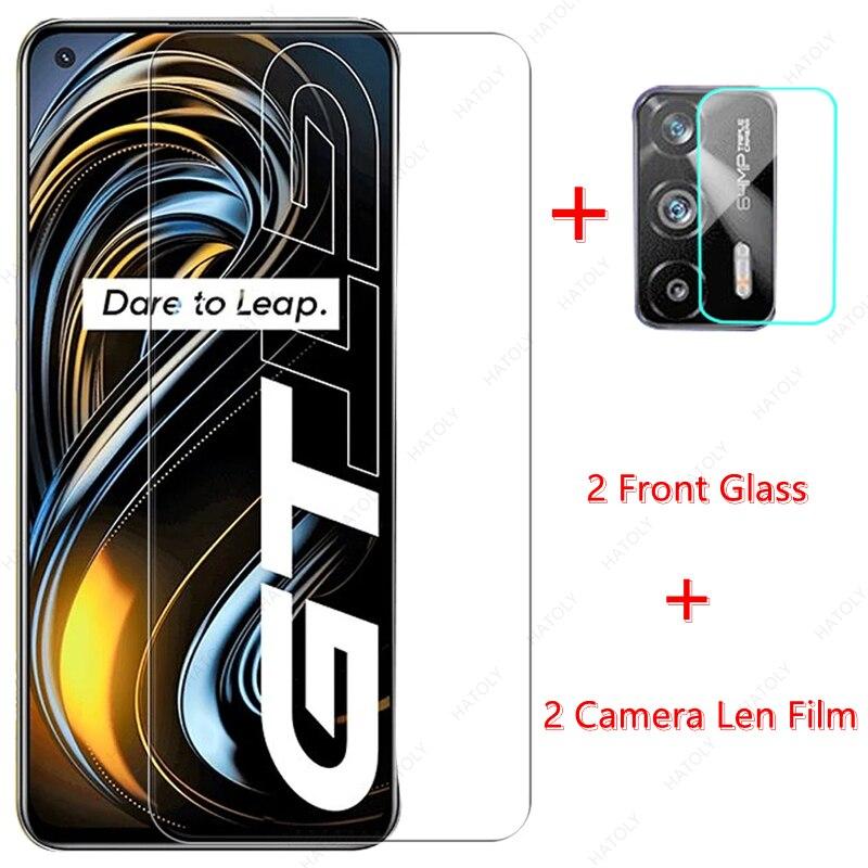 Стекло для Realme GT закаленное Стекло для Realme GT 5G Экран протектор Камера Len плёнки для Realme Narzo 30 5G 7 8 Pro C21 C15 C11
