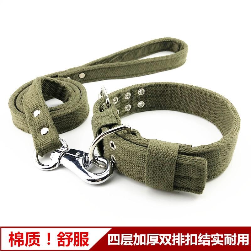 Cotton Cloth Dog Neck Ring Haulage Rope Package Medium Large Dog Bandana Horse Dog Golden Retriever German Shepherd Dog Rope Sli