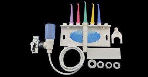 dentes mais limpos agua flosser torneira oral dental spa jet interdental remover detritos reduzir bacterias