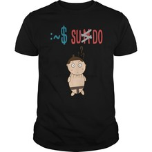 T-Shirt homme Sudo Sumo Geek Linux T-Shirts Cool imprimé T-Shirt T-Shirts haut(China)