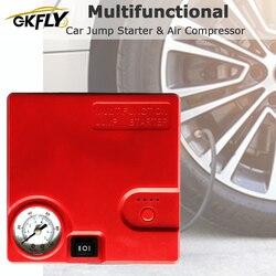 GKFLY Pro urządzenie do uruchamiania awaryjnego samochodu pompa powietrza 16800mAh urządzenie zapłonowe Power Bank 12V ładowarka samochodowa do wzmacniacz do akumulatora samochodowego sprężarka powietrza