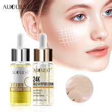 AuQuest Vitamin 24K Gold Face Serum Skin Whitening Essence Anti Aging Wrinkle Re