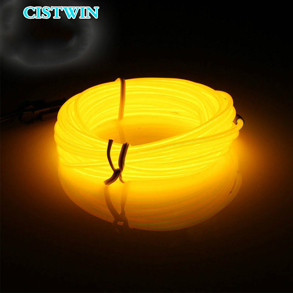 CISTWIN Illuminated Neon LED Neon LED Light With RGB Waterproof LED Line Neon Line Party Decoration LED Light With 1M