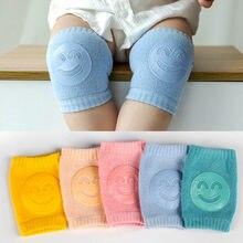 Protetor de joelho do bebê crianças segurança rastejando acessórios de joelho do bebê perna mais quente acessórios de joelho 100% algodão crianças joelho accessorie