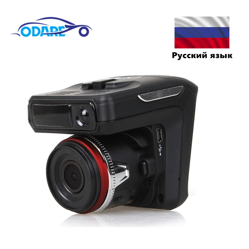 Odare Автомобильный видеорегистратор, радар детектор gps 3 в 1 HD1080P угол 140 градусов видеорегистратор на русском языке