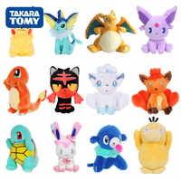 20-30cm Jigglypuff Charmander Bulbasaur Squirtle EEVEE Pokemon plush toys For Children Activity gift Soft Doll Anime