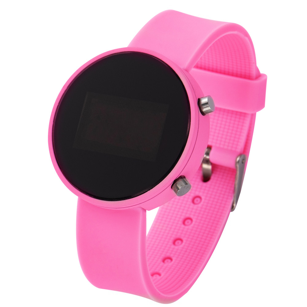 Цифровой Часы Для Детей LED Дисплей Женщины Цифровой Часы Мальчики Девочки Силикон Ремешок Мужчины Спорт Цифровой Наручные Часы Дети Наручные часы