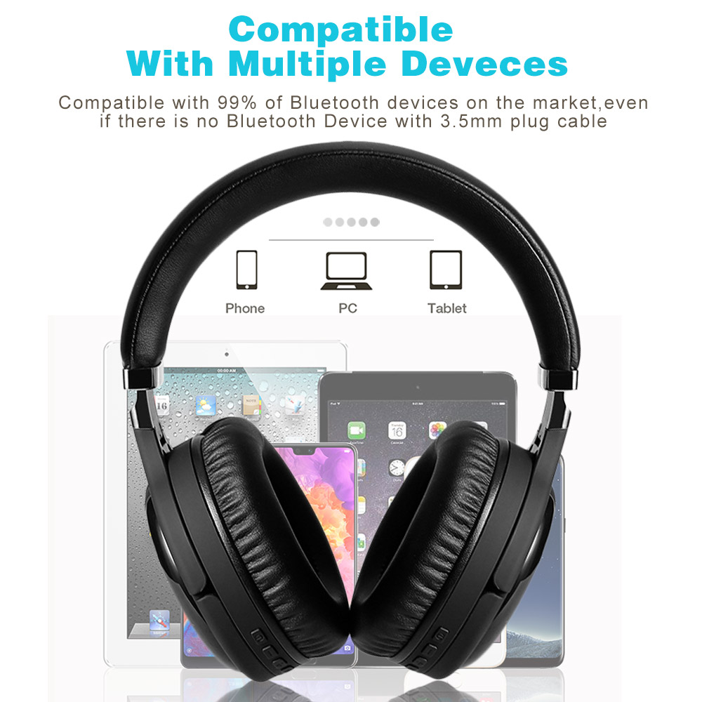 lowest price Oneodio 3 5mm Aux Audio Cable With Noise Cancelling Microphone Volume Control Mic One-button Mute For Oneodio Headphones 2m