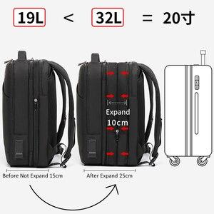 """Image 3 - ARCTIC HUNTER ชาย 15.6 """"กระเป๋าเป้สะพายหลังแล็ปท็อปขนาดใหญ่ Multi Layer กันน้ำ USB ชาร์จกระเป๋าเป้สะพายหลังกระเป๋าเดินทาง mochila"""