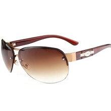 Oversized Pilot Sunglasses Men Women 2019 Brand Vintage Rimless Sun Glasses Man Woman Oval Driving Sunglass Retro Shades UV400