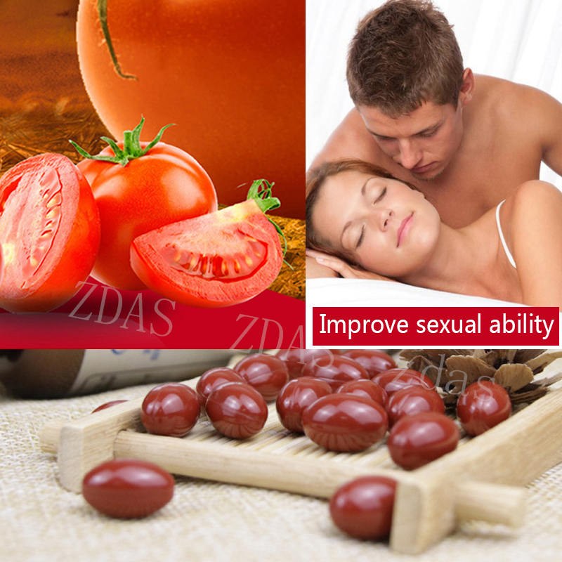 60 Pill Lycopene Cure Prostatitis Capsules,Improve Sexual Function And Increase Erection Improve Sperm Vitality & Strong Muscle
