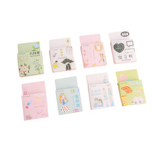Decoration Stickers Japanese Girl Back-To-School Paper 46pcs/Pack