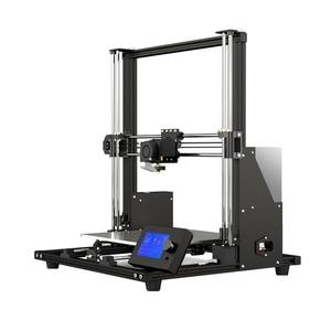 Image 2 - 새로운 Anet A8 플러스 업 그레 이드 고정밀 DIY 3D 프린터 자체 조립 300*300*350mm 대형 인쇄 크기 알루미늄 합금 프레임