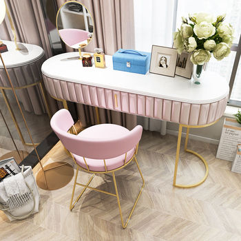 Chinafurniture bedroom makeup back chair dressing stool desk chair single makeup chair image