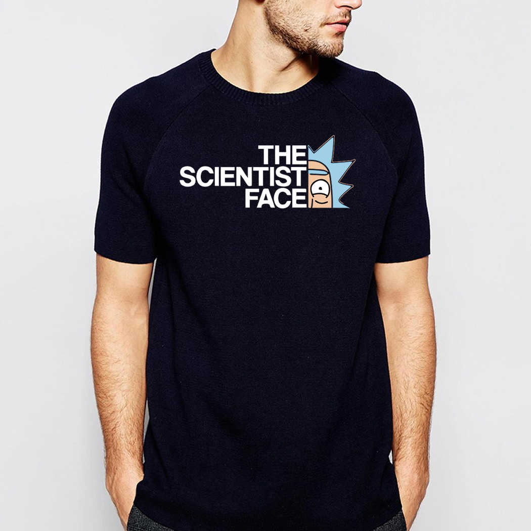 The Scientist Men T Shirt Crazy Tshirt Rick And Morty Tops Tees Casual Sweatshirt Anime Streetwear Sportswear Short Sleeve Shirt