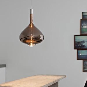 Image 2 - Nordic Creative LED Pendant Lights Postmodern Glass Dining Living Room Villa Hanging Lamp Hotel Bar Coffee Shop Art Luminaires