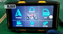 GPS-навигатор для мотоцикла Android 6,0 Wifi RAM 1G ROM 16G водонепроницаемый навигатор для автомобиля Moto GPS