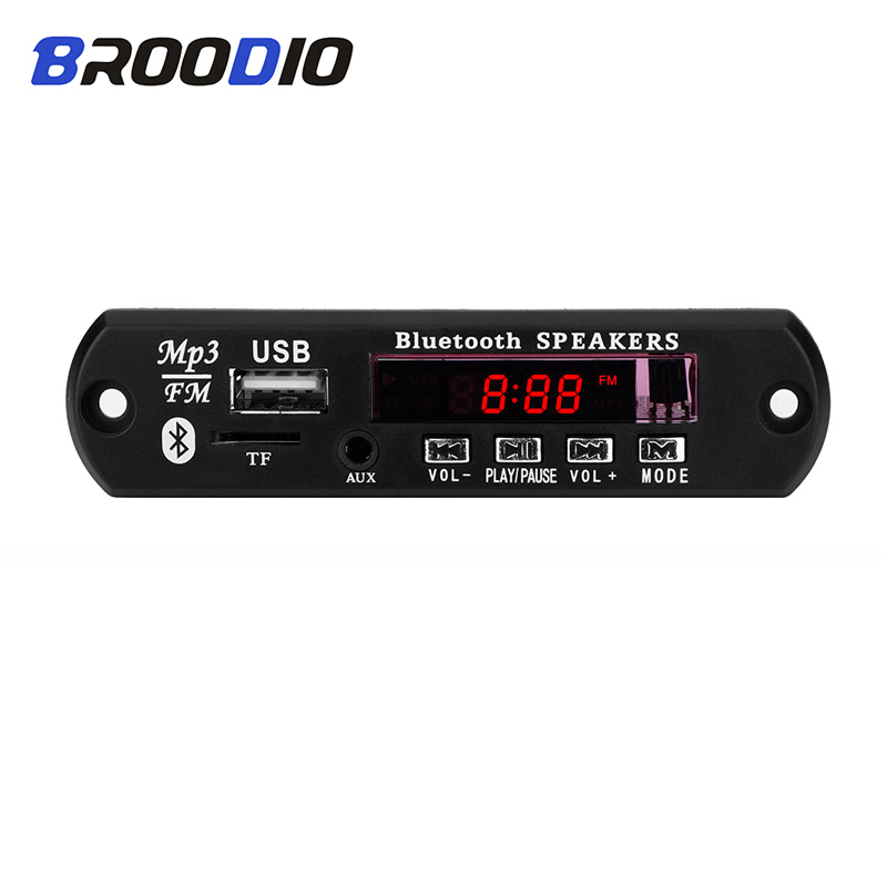 Bluetooth <font><b>MP3</b></font> <font><b>Player</b></font> Musik <font><b>Decoder</b></font> <font><b>Board</b></font> USB FM Radio TF USB 3.5mm AUX Modul Bluetooth Empfänger Audio <font><b>kit</b></font> Für Auto zubehör image