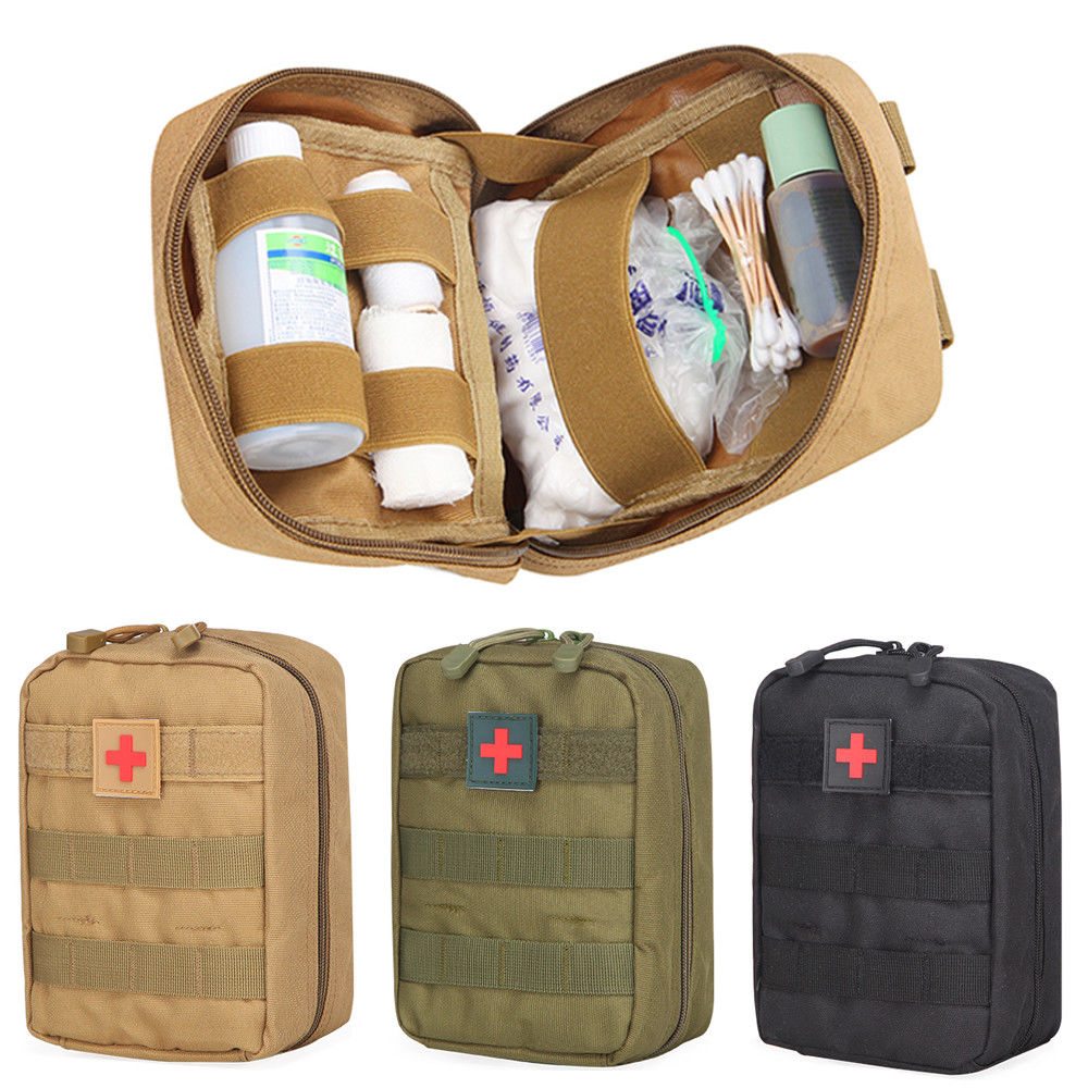 Outdoor Sports Tactical Care Bag First Aid Kit Camping Hiking Mountain Climbing Pack Storage Bags Pocket