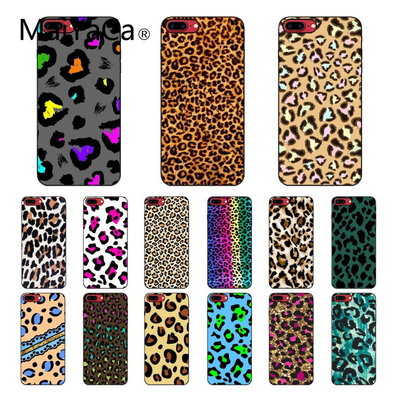 Maiyaca Fashion Tiger Printed Leopard Panther Phone Accessories Case for iPhone 11 Pro XS MAX XS XR 8 7 6 Plus 5 5S SE