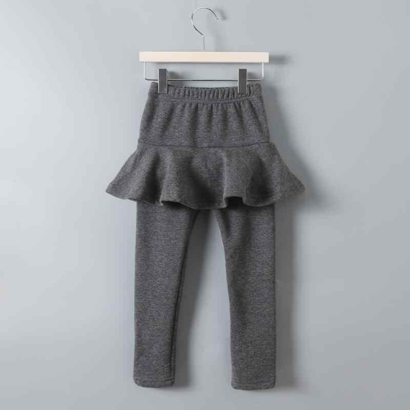 春秋冬ベビー幼児女子校生レギンスレギンスチュチュスカートパンツ子供のズボン綿レギンス