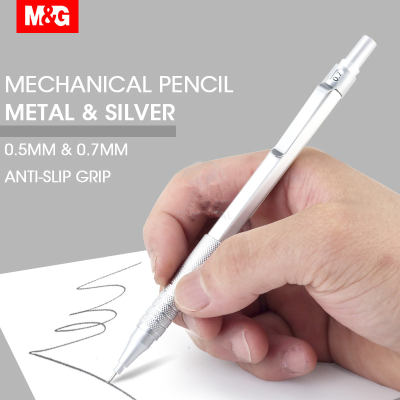 Pencil Professional Drafting Automatic Mechanical Metal Pencil 0.5mm 0.7mm Lead