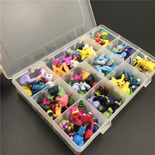 Best Selling 2.5-3cm Different Styles Cute Japan Pokemones Anime Figures Toys fo